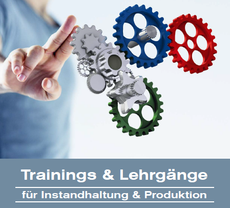 Trainings & Lehrgänge 2017 dankl+partner consulting MCP Deutschland Trainings, Seminare, Workshops, Coaching, Inhouse, Webinare, Instandhaltung, Asset Management, Produktion, Condition Monitoring, Engineering