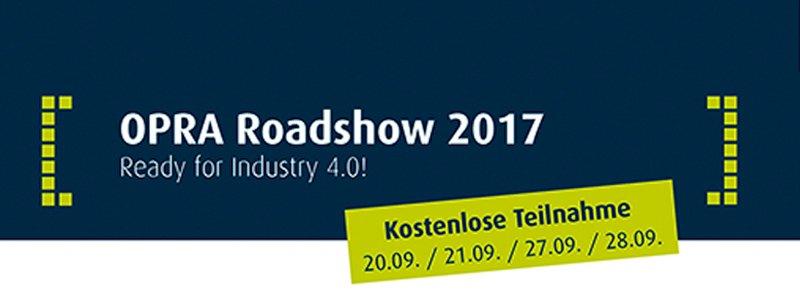 OPRA Roadshow 2017 mit dankl+partner/ MCP Deutschland