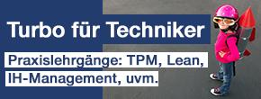 Lean TPM Instandhaltungsmanager IMM