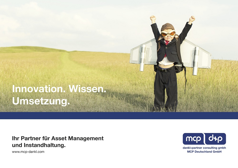 Unternehmensfolder dankl+partner consulting und MCP Deutschland