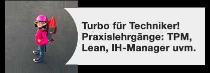 trainings für techniker, tpm, lean management, instandhaltungsmanager, dankl+partner, MCP Deutschland