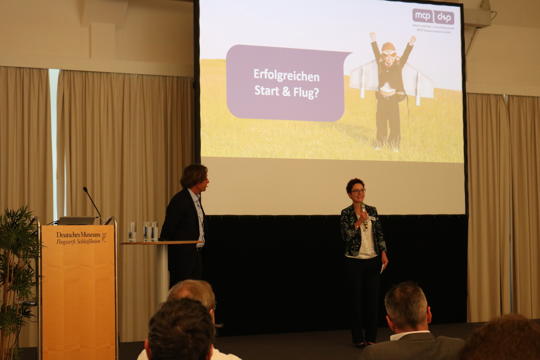 Praxistag: Smart Maintenance Begrüßung Lydia Höller (dankl+partner)