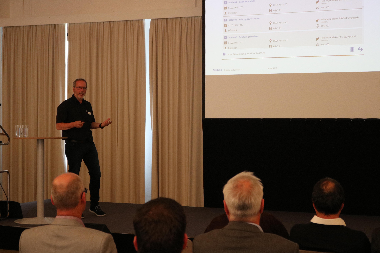 Praxistag: Smart Maintenance Vortrag Henning Stolz (Mubea)