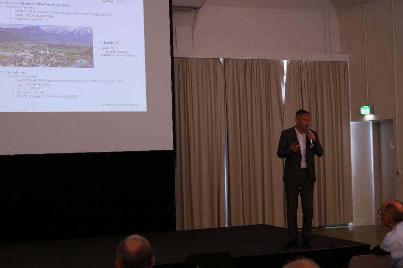 Praxistag: Smart Maintenance Vortrag Michael Lerchster (austrocel Hallein)