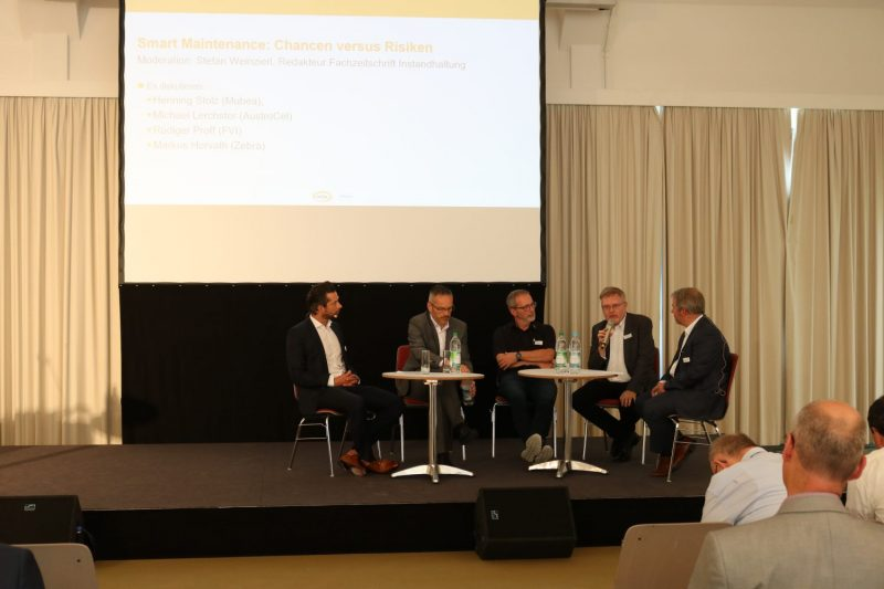 Praxistag: Smart Maintenance Podiumsdiskussion Chancen versus Risiko