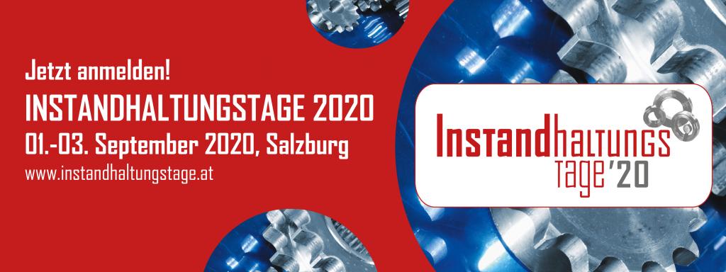 Instandhaltungstage, Maintenance, Digitalisierung, Salzburg