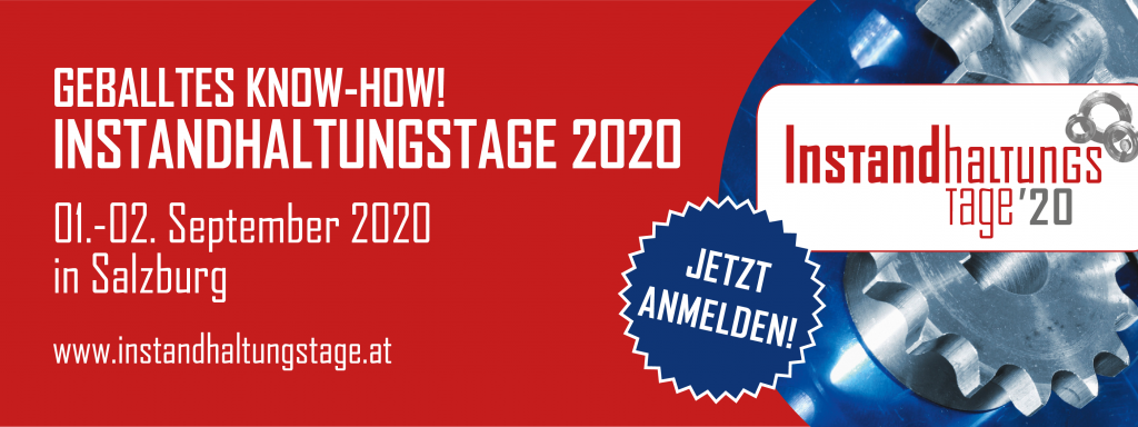 banner instandhaltungstage 2020