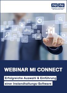 dp MCP Webinar Instandhaltungssoftware mi-connect